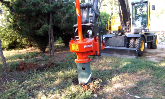 This is a picture of Whittier stump removal.